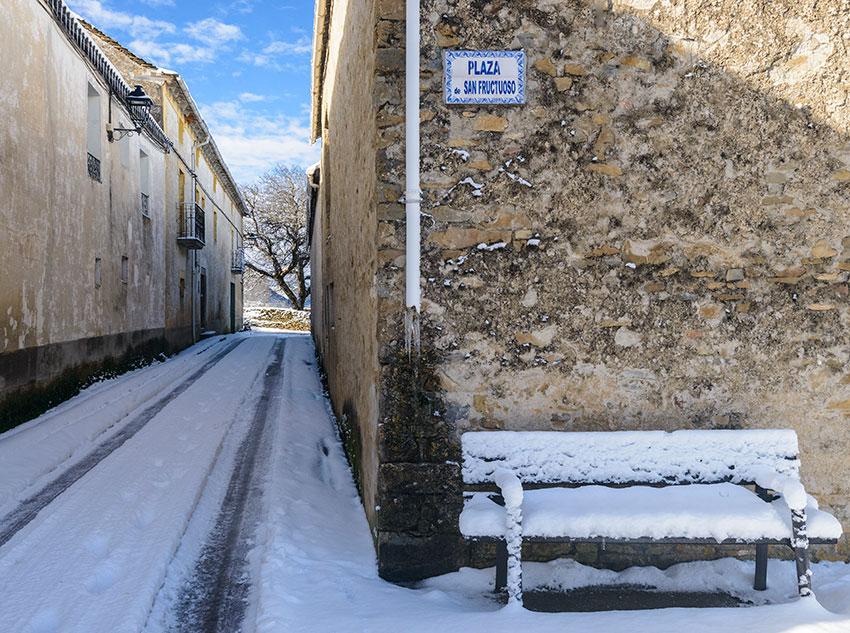 Invierno - Calles de Barós