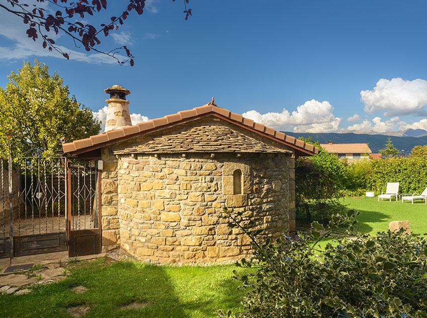Estival - Ermita jardín