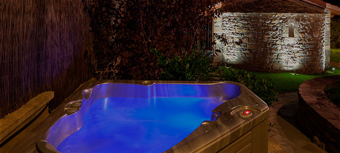 Outdoor Spa Barosse Author Hospitality