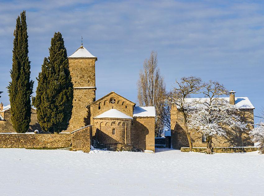 Invierno - Iglesia de San Fructoso