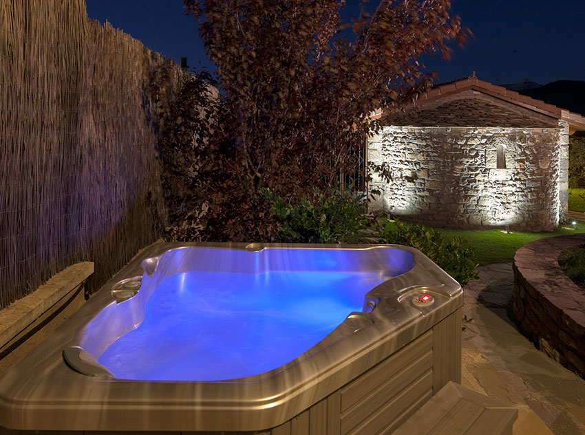 Spa on the outside