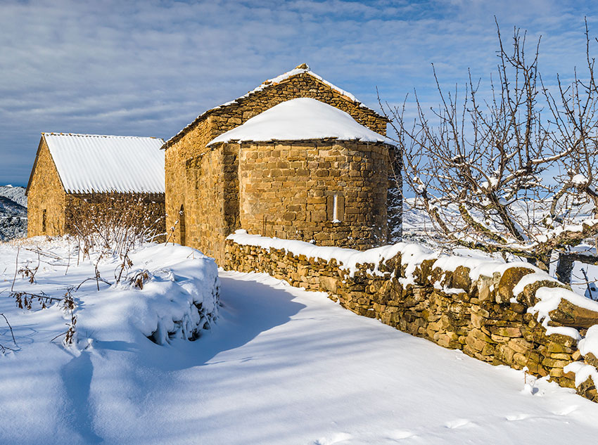 Winter – Hermitage of Saint James