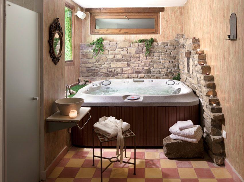 Spa on the inside