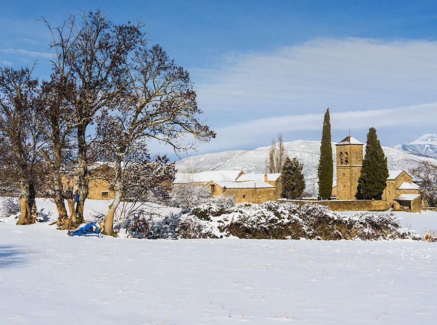 Invierno - Pueblo de Barós