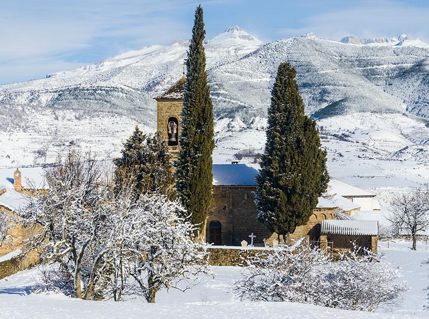 Winter – Church of Saint Fructoso