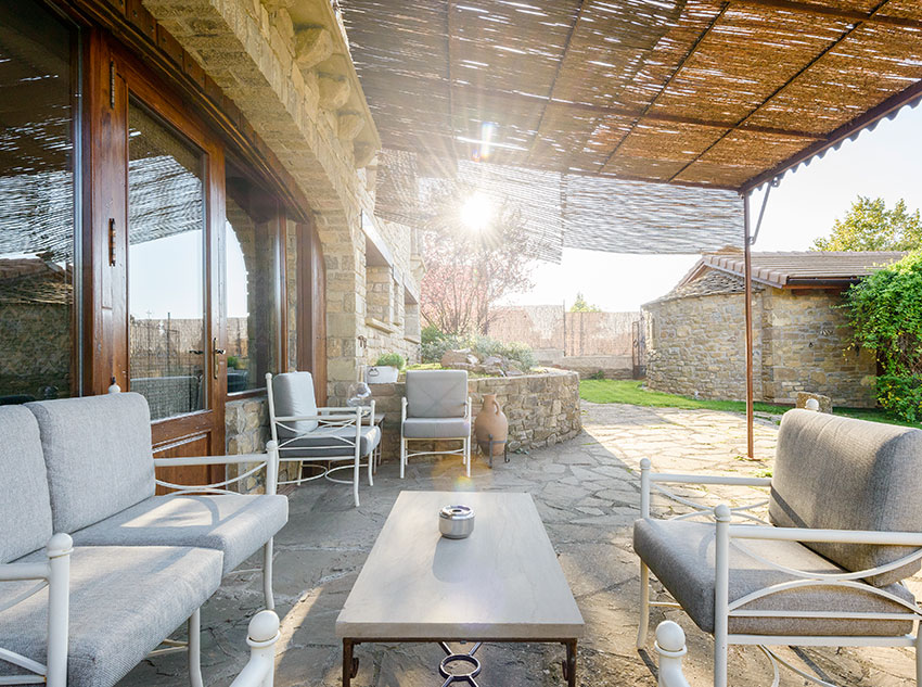 Summertime – Terrace area