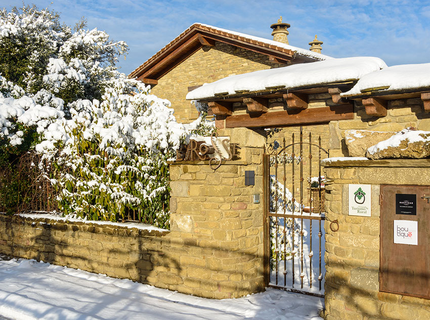 Winter - Entrance Barosse