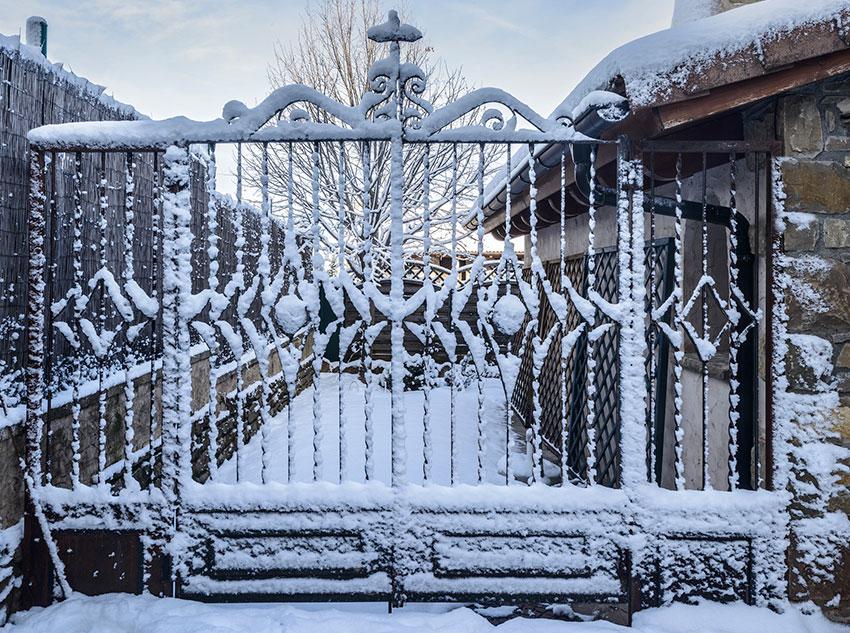 Winter – Big gate