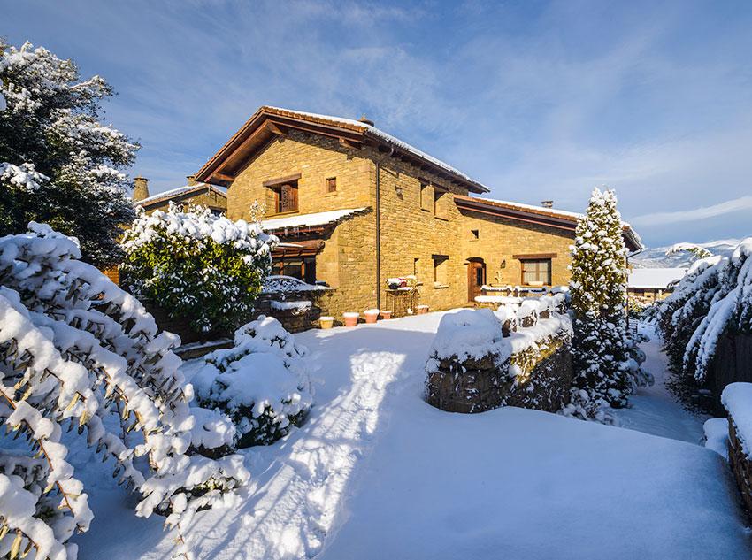 Invierno – Entrada Hotel